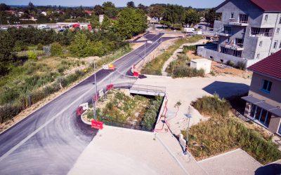 Aménagement de la voie verte à Crémieu