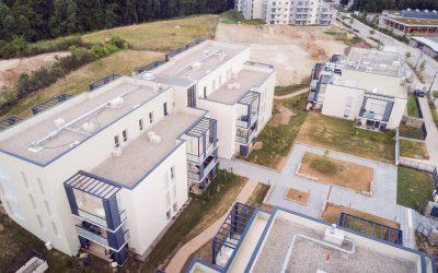3 Vallons, construction de logements à l'Isle d'Abeau
