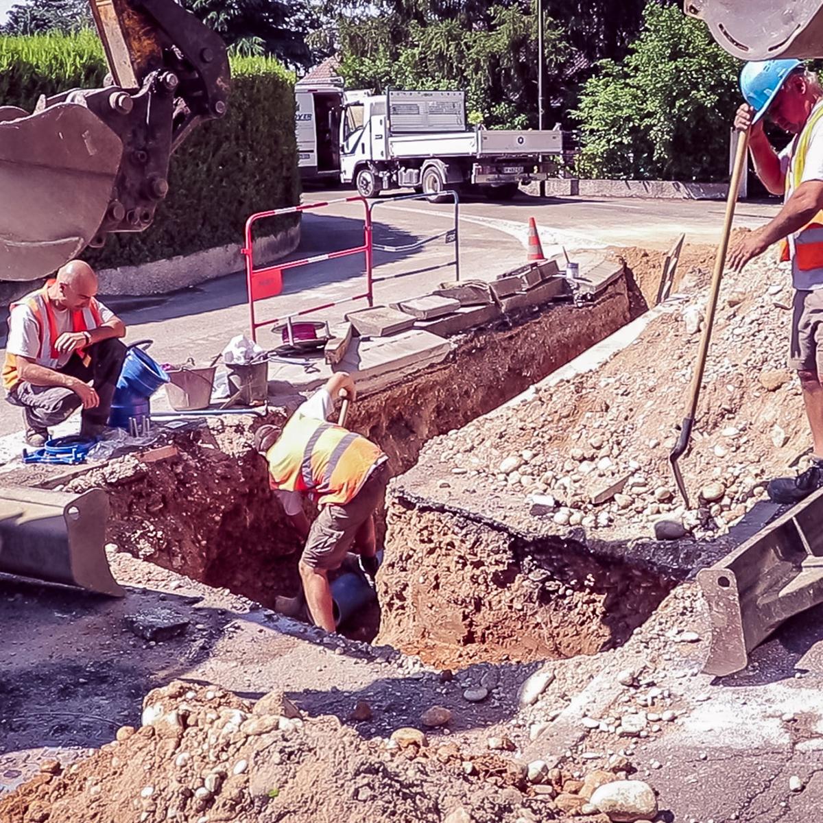 Ouvriers qualifiés en travaux publics